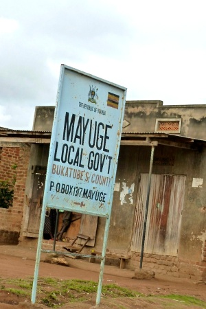 CarbonViolence.org - Mayuge Local Government sign